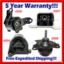 K068 Fit 2002-2006 HONDA CRV 2.4L ENGINE & TRANS MOUNT SET for AUTO TRANS