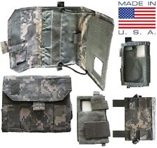 NEW Military Molle Acu Camo Tactical Wallet,Utility Admin Pouch, Cell Phone Case