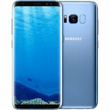 New Samsung Galaxy S8 + Plus Dual Sim G955FD 4G 64GB Unlocked Blue - 1 Year Wty