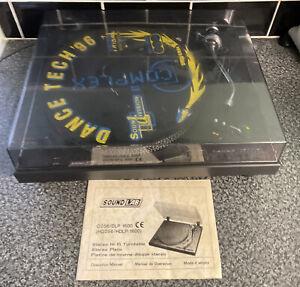 Sound LAB DLP 1600 Professional Belt Drive Turntable