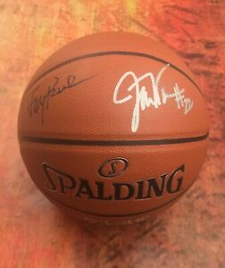 GFA Announcers for ESPN College * JAY BILAS & WILLIAMS * Signed Basketball COA