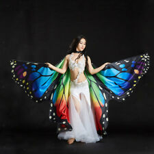Butterfly Belly Dance Isis Wings Dancer Colorful Egyptian Christmas Cosplay