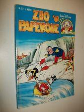 WALT DISNEY: ZIO PAPERONE N.52 CARL BARKS!GENNAIO 1994 BUONISSIMO!!