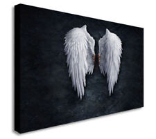 BANKSY ANGEL WINGS Print Picture Art Pictures Canvas Wall Art Prints Unframed