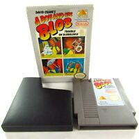 A Boy and His Blob Trouble in Blobonia Nintendo 1989 NES w/Box & Sleeve Tested