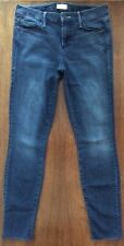 MOTHER Jeans LOOKER ANKLE FRAY REPEATING LOVE SKINNY Size 27