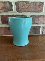 Edible Arrangements Aqua Turquoise Planter Vase Flower Pot