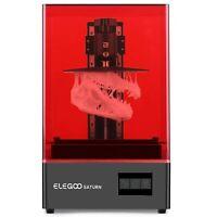 🔥 ELEGOO Saturn MSLA 4K Monochrome 🔥 LCD Resin 3D Printer ⚡Fast Shipping 🚚💨
