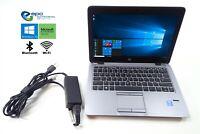 "12.5"" HD HP EliteBook 820 G2 | i5-5300U 2.3GHz 32GB SSD 500GB HDD 8GB RAM Win 10"