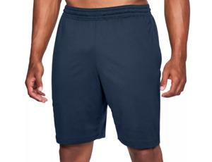 Under Armour Training Shorts Mens 2XL Authentic MK1 9 Inch Gym Academy Blue