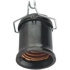 100 Pk Leviton Black 660W 250V Outdoor Pin Light Bulb Socket 001-167