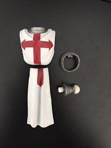 Mythic Legions Accessories Templar Knight Upper Torso Chest Armor Loincloth 1/12