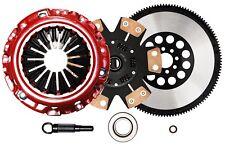 QSC Stage 3 Clutch Kit fits Nissan 03-06 350Z G35 VQ35DE + Chromoly Flywheel