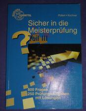 Sicher in die Meisterprüfung. Teil 3 - Achim Pollert & Bernd Kirchner (2002)