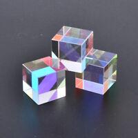 optical glass defective x-cube prism cross dichroic rgb splitter for teachin DL