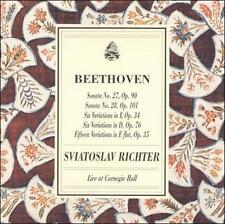 "Classical CD ""Sviatoslav Richter Plays Beethoven Sonatas 27 & 28, etc"""