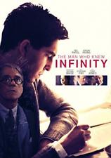 THE MAN WHO KNEW INFINITY (UK IMPORT) DVD [REGION 2] NEW