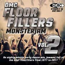 DMC Floorfillers Monsterjam Vol 2 1977-2017 Continuous Megamix DJ Party CD