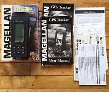 Magellan GPS Tracker Satellite Navigator 1998