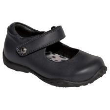 S126 Pediped Flex Bailey Black Mary Janes Girls - Size Child  UK 8- EU 25