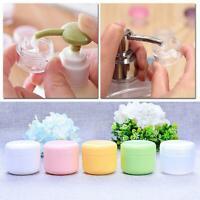 1/5/10Pcs Plastic Cosmetic Sample Bottle Container Travel Portable Reusable Pot