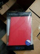 Blurex Slim Folio Tablet Case Google Nexus 7 inch RED