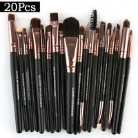 20PCS Cosmetic Make up Brushes Set Foundation Blusher Eyeshadow Lip Brush LIU9