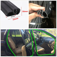 3m EPDM Rubber w/Steel Belt Car Door Sealing Weatherstrip Dustproof Waterproof