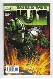 World War Hulk #1 Very Fine/Near Mint