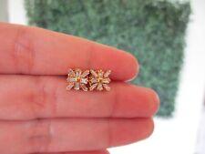 .56 CTW Diamond Earrings 14k Yellow Gold E343 sep