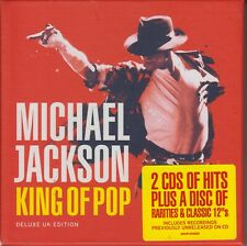 Michael Jackson 3 CD set King Of Pop incl: Rarities & Classic 12inches 2008