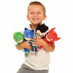 "PJ Masks - Catboy, Gekko, Owlette and Romeo -  8.5"" Mini Plush - Set of 4"