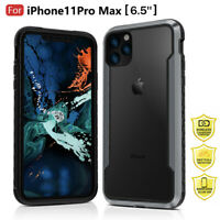 Defense Shield Case For iPhone 11 Pro Max Military Grade PC Metal Hybrid Cover