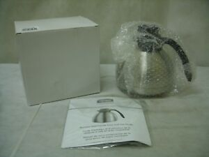 Thermos Thermax THF19SCLG6 Stainless 1.9L Vacuum Insulated Brewer Carafe - NOS