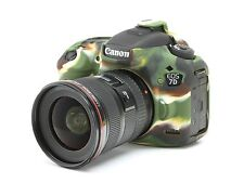 Camera silicone cover for Canon EOS 7D Mark 2 Camouflage