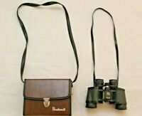 Vintage Bushnell Sportview 7x35 InstaFocus Binoculars With Factory Leather Case