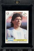 1990 Panini World Cup Italia Diego Maradona Sticker #224 Argentina Rare