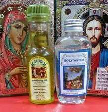 Anointing Oil from Israel and Holy water from Jordan river 50 ml bottles