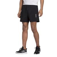 Adidas Men Shorts Gym Training Running Workout Plain SJ Black Fashion DQ3085 New