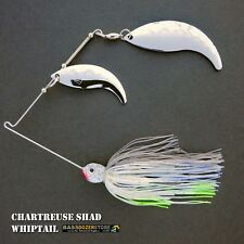 Bassdozer spinnerbaits WHIPTAIL 3/8 oz H. CHART SHAD spinnerbait spinner bait