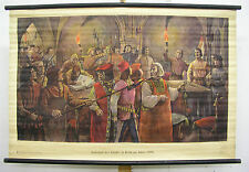 School Wall Mural Wall Picture Image Cologne uprising of the guilds 1396 Town Hall citizen 118x78