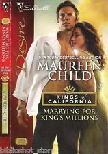 Marrying for King's Millions: CA Kings #3 Platonic to.. Wow Maureen Child SALE