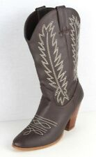 Miranda By Miranda Lambert women's boots cowboy brown cowboy heels size 8M