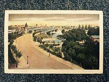 Strassburg Rheinbrucke Postcard