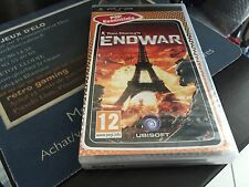 Tom Clancy´s ENDWAR Sony PAL PSP France Scellé a etrenner