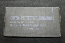 """WW2 U.S. ARMY  1945 DATED GAS """"COVER, PROTECTIVE, INDIVIDUAL"""" - UNISSUED"""
