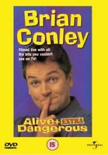Brian Conley - Alive And Extra Dangerous (DVD, 2001),RARE DELETED OOP,UK REG 2