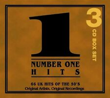 NUMBER ONE HITS OF THE FIFTIES NEW 3 CD UK GREATEST 1952 TO 1957 EASY POP R N R
