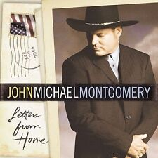 (CD) John Michael Montgomery - Letters From Home (Apr-2004, Warner Bros.) *NEW*