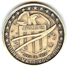 N316      NASA  SPACE  COIN /  MEDAL,  APOLLO   16
